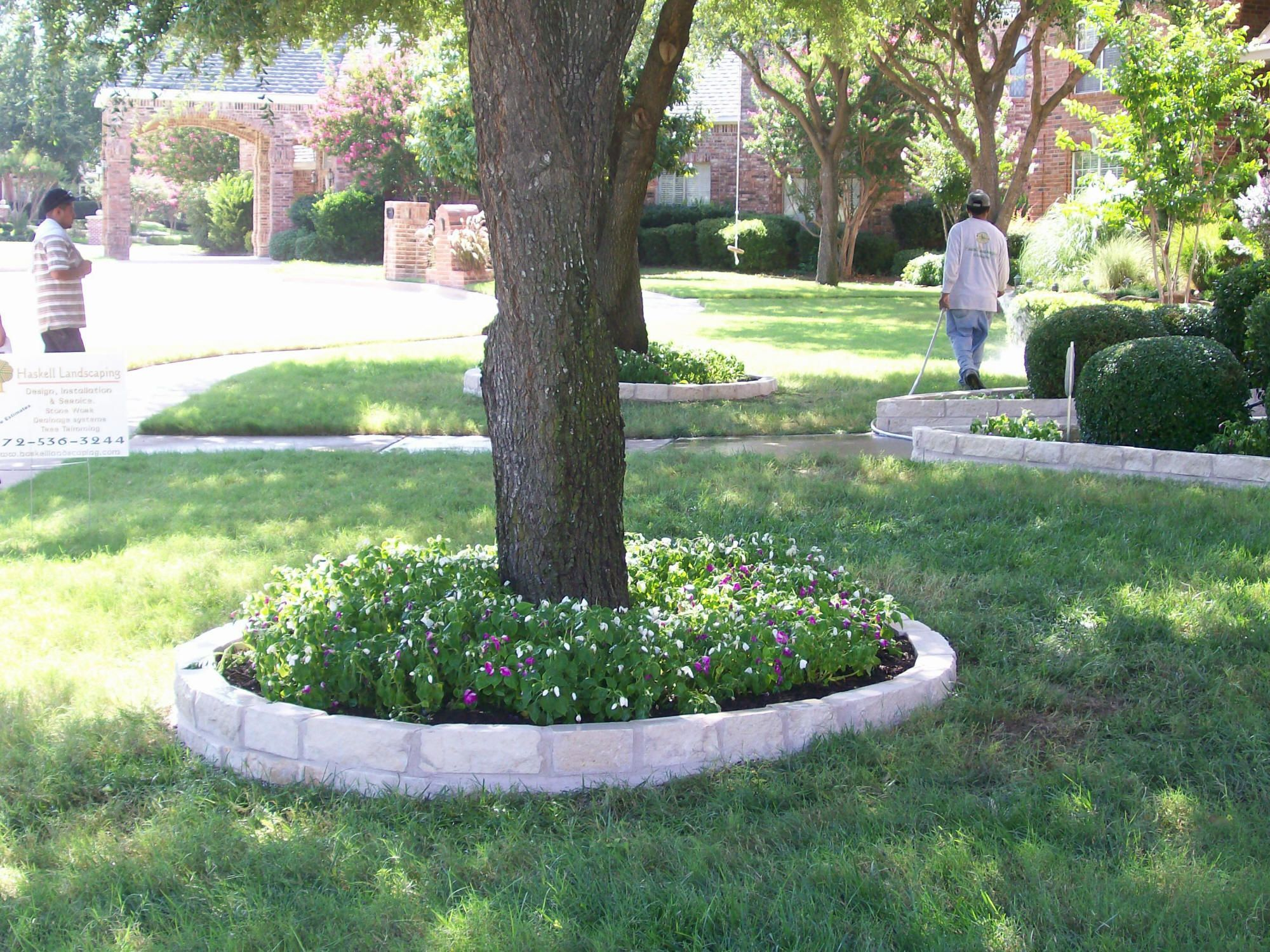 Image detail for best stone flower bed edging pictures