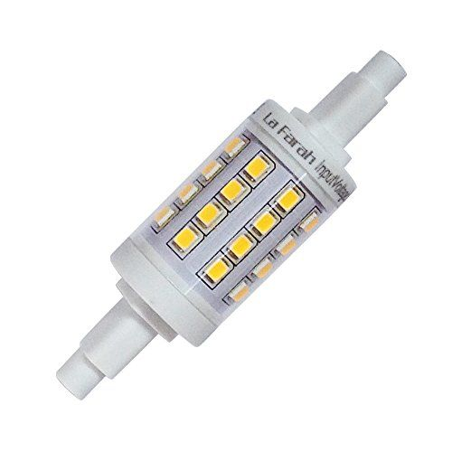 La Farah J Type 78mm Double Ended Halogen Bulb Replacement R7s Base Led Light Bulb 5 Watt 500 Lumens 2700k Warm White Led Bulb Halogen Bulbs Bulb