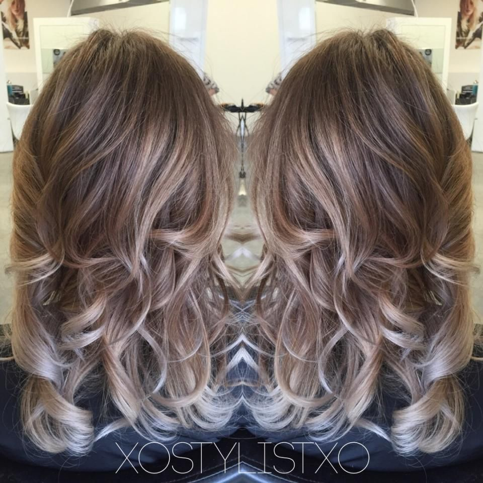smokey pearl beige balayage before and after news balayage brown blonde balayage and ash brown. Black Bedroom Furniture Sets. Home Design Ideas