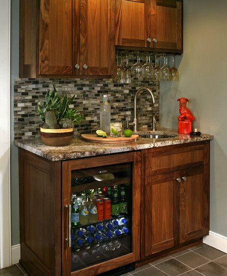 Wet Bar Ideas Gallery: Bar For A Small Space