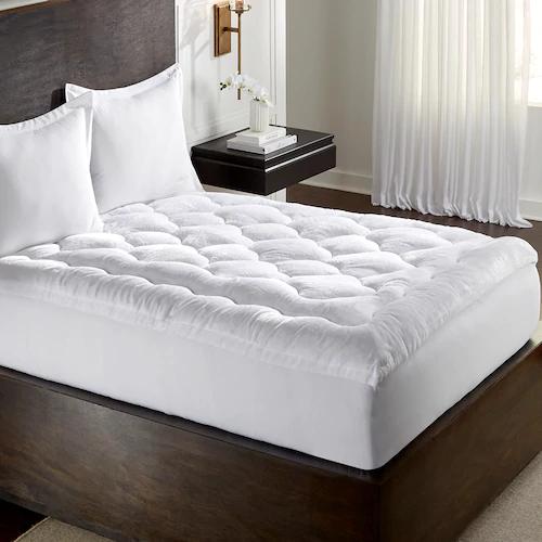 MGM Grand at Home Fiberbed Topper Plush mattress, Top