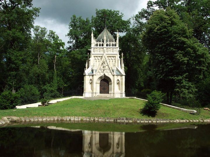 c0d08f9e1 Mausoleum of The Andrássy Family in Trebišov, Košice region, Slovakia