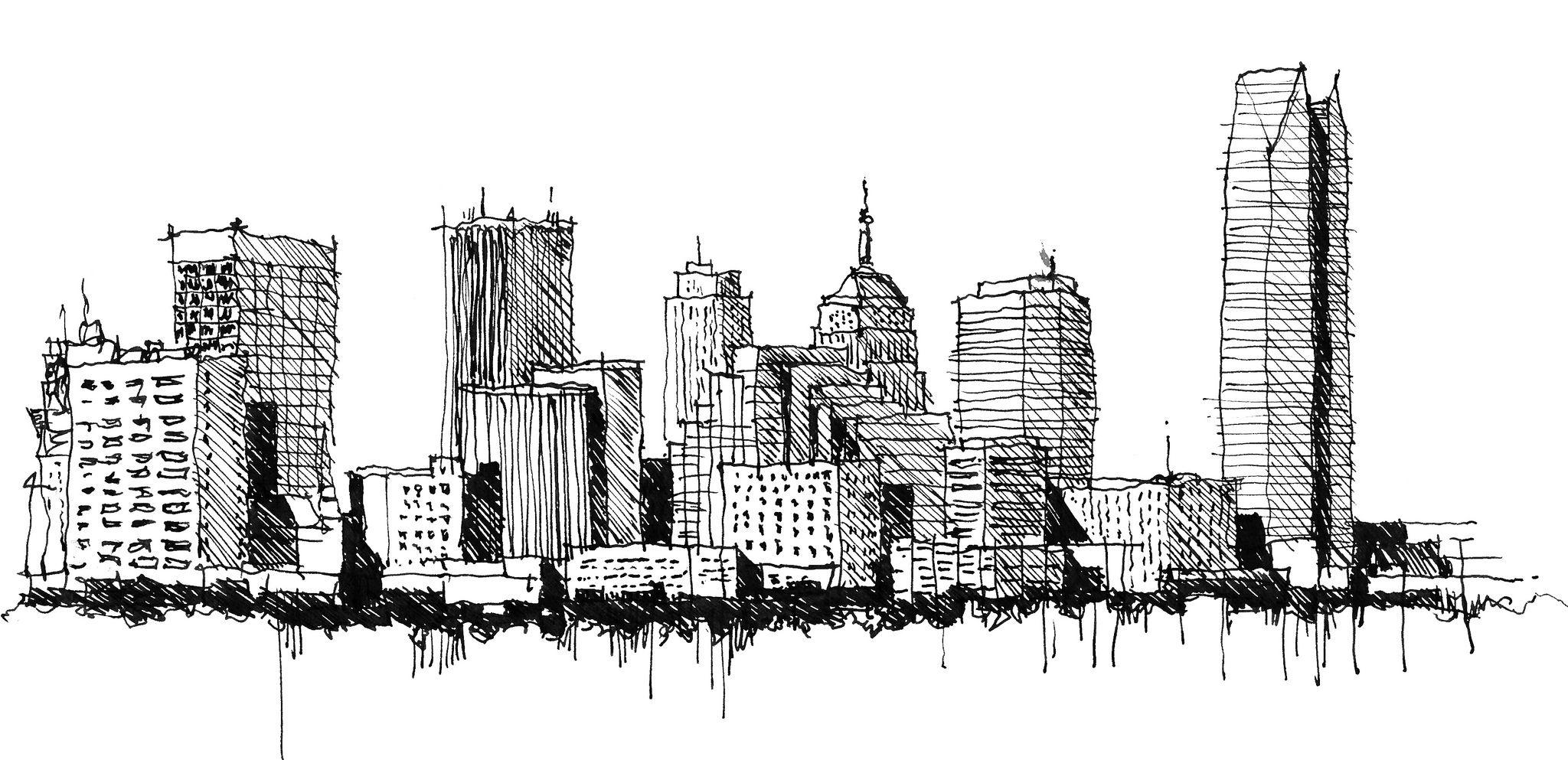 мегаполис картинки рисунки последнее время