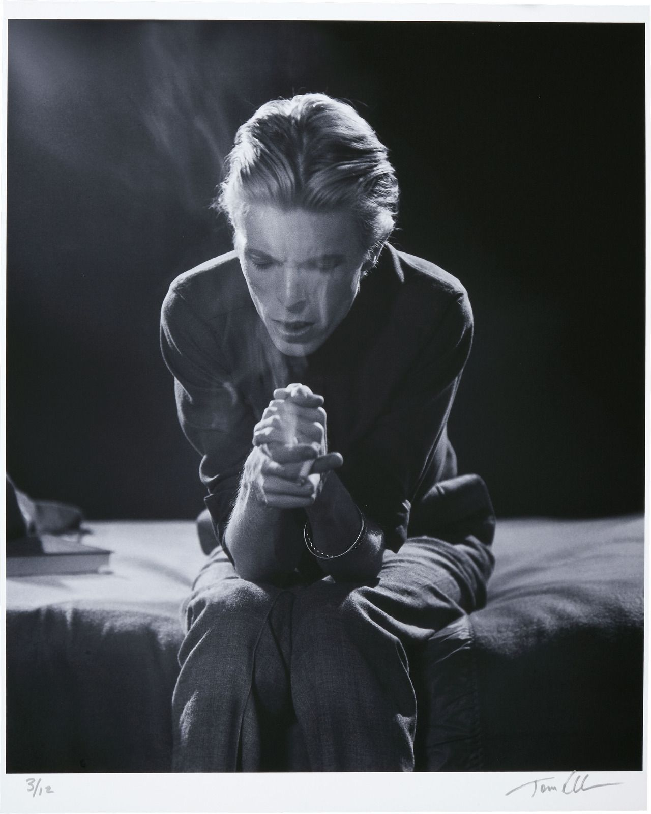 David Bowie — Berlin Era — A study in black and white  hi-res (click the pic after following this link)
