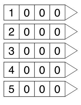 place value arrow cards perfectly practical teacher s pay teachers