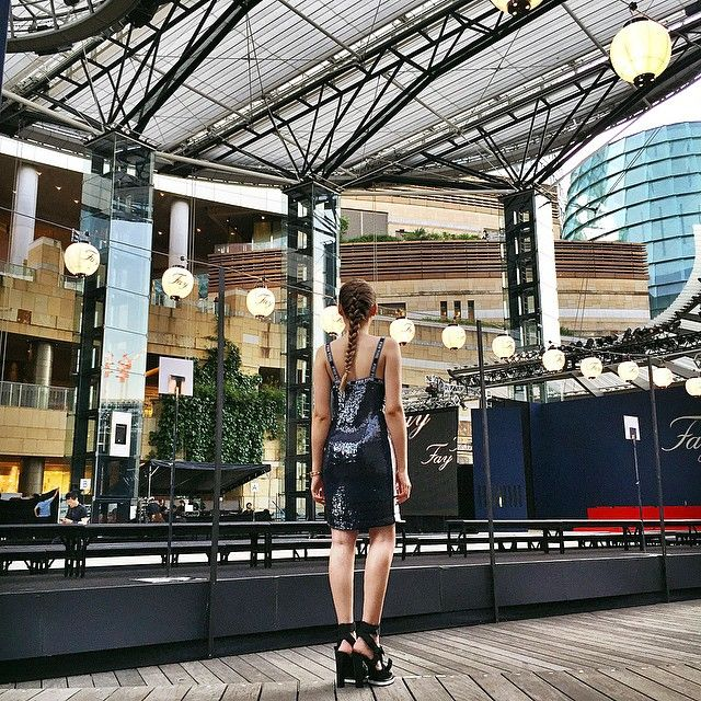 Arrived at the gorgeous show location of @Fay_Brand in Tokyo. Looking forward to the show and to see the special collection which will launch the brand in Japan! #FayBrand #FayFashionTheatre #kaytureonthego