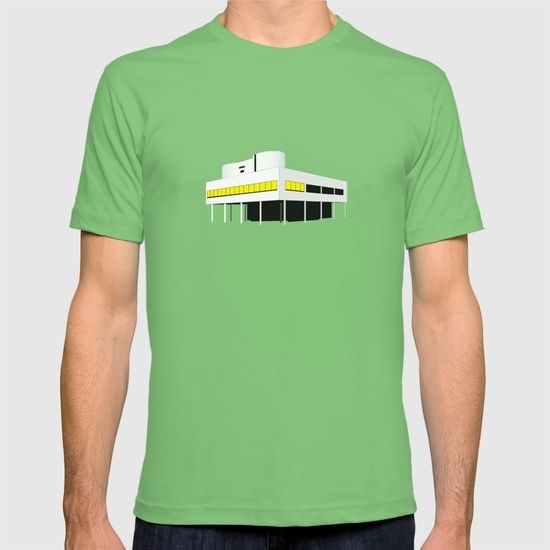 Pioneers Of Modern Architecture villa savoye, le corbusier - modern architecture series t-shirt