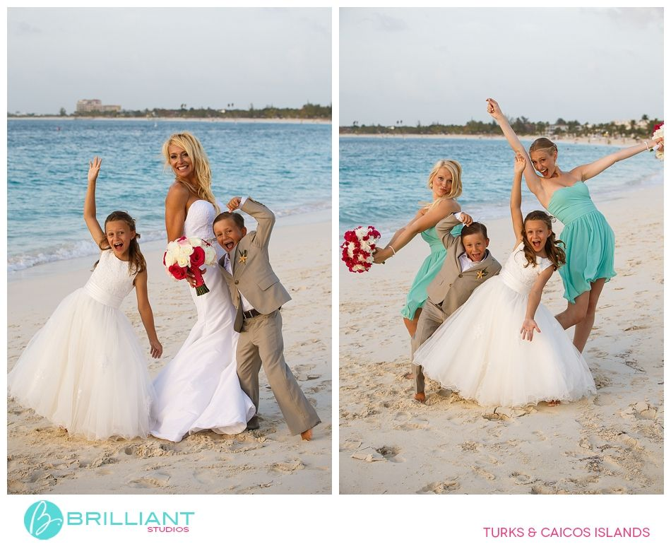 Wedding At The Seven Stars Resort In Turks And Caicos With Brilliant Studios