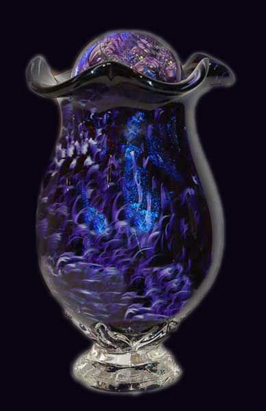 Cremation glass balls
