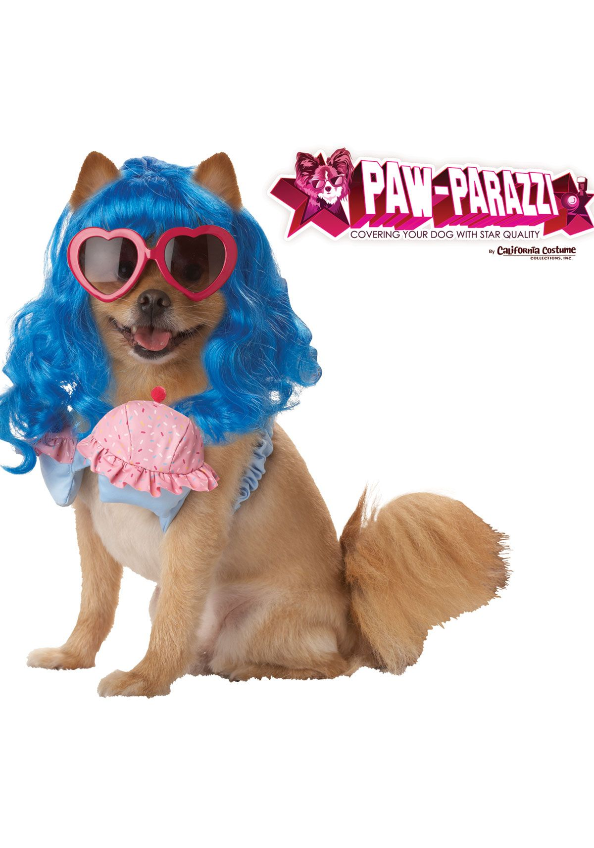 Price reduced up to 40% save Now Cupcake Girl Dog Costume (Large,Blue/Pink) Check more at http://morehalloween.com/cupcake-girl-dog-costume-largebluepink/