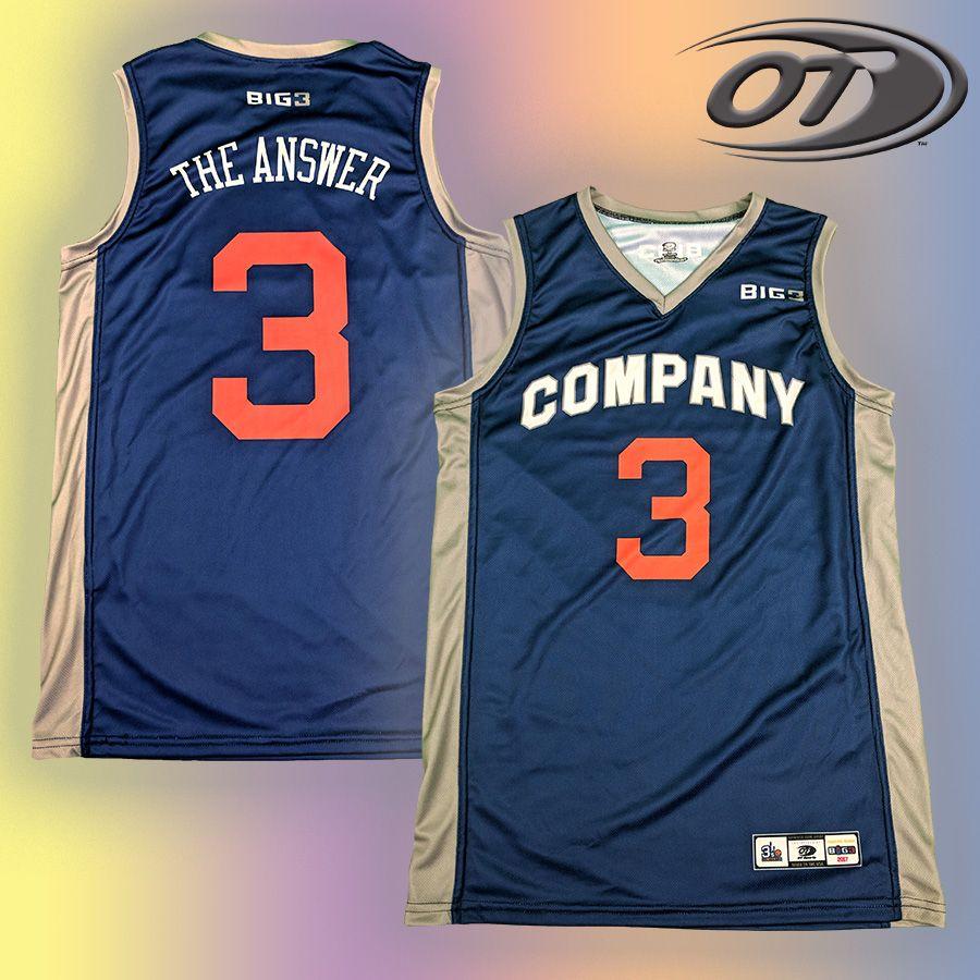 check out 463f0 3da7d Allen Iverson Big3 jersey giveaway | OT competition | Allen ...