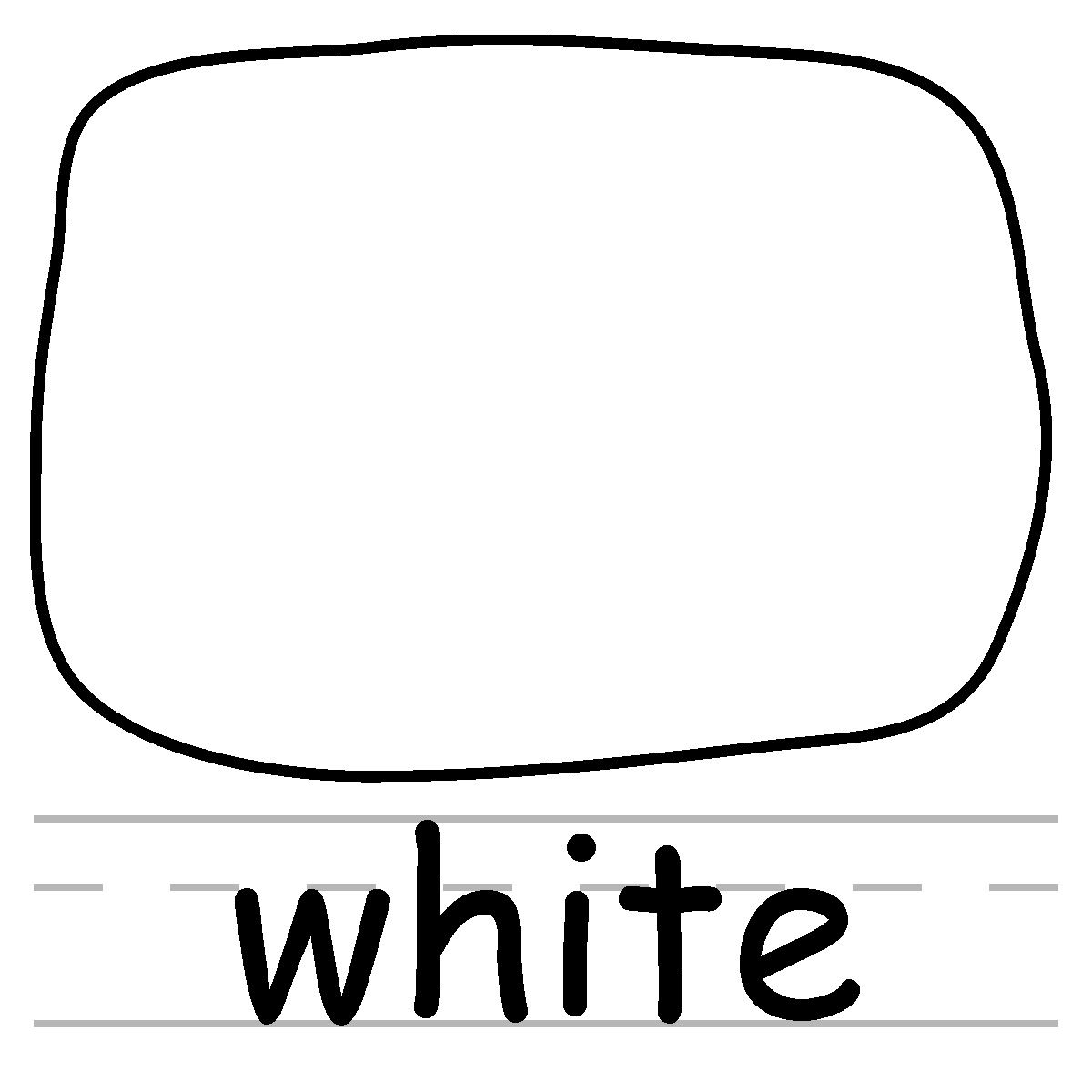The Color White Clip art colors white