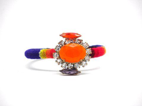 "Inca Bohemia Bracelet ""Aztek Winter"""