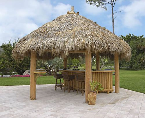 Outdoor Structures Select A Structure Tiki Huts Gazebos Arbors