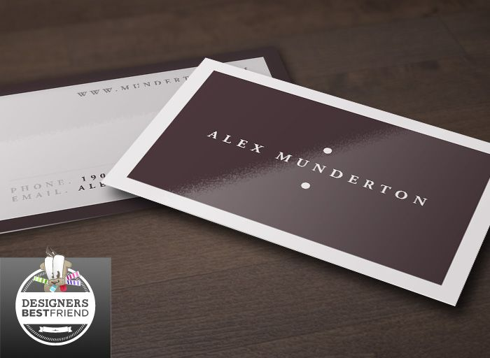 About project this free minimal business card template is for Best business card templates