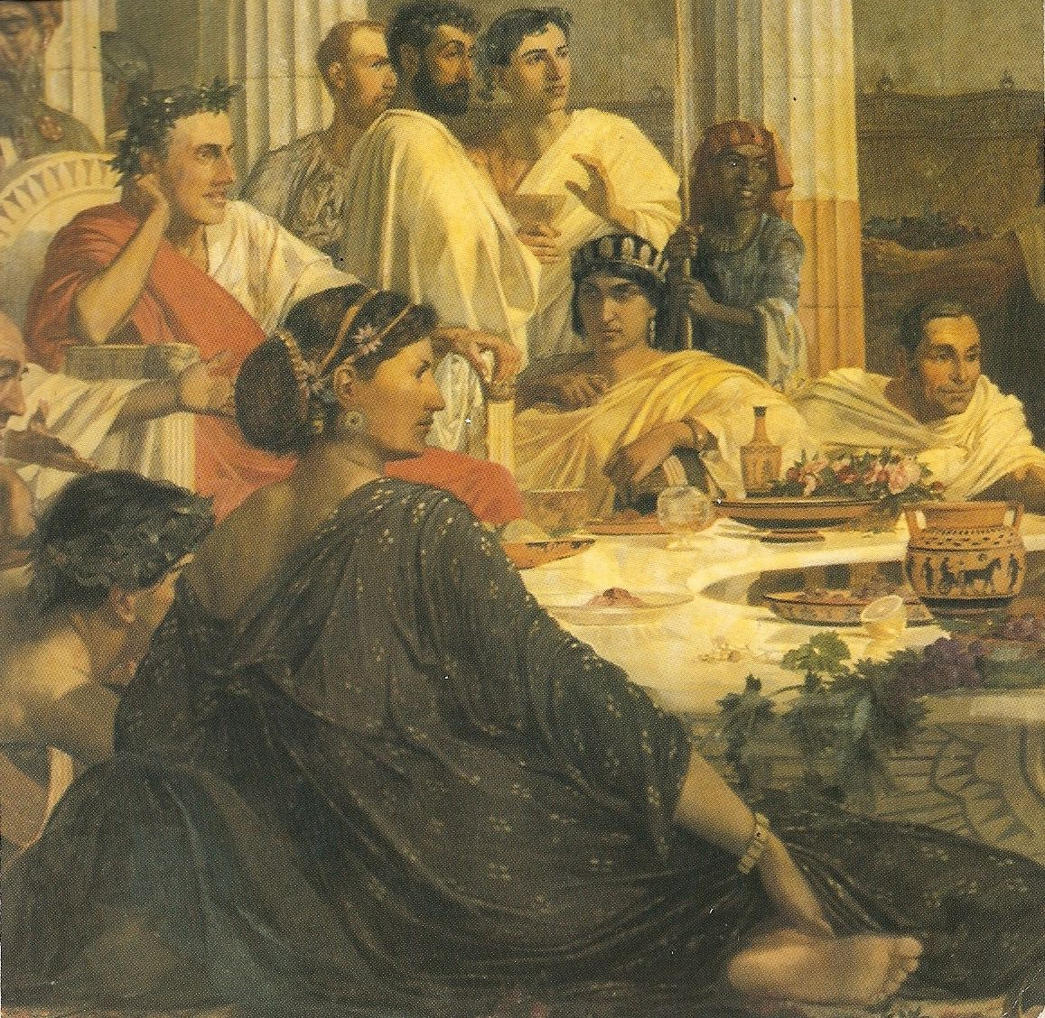 the roman banquet This is for an anonymous commissioner, hope you like it part one roman banquet part 2.