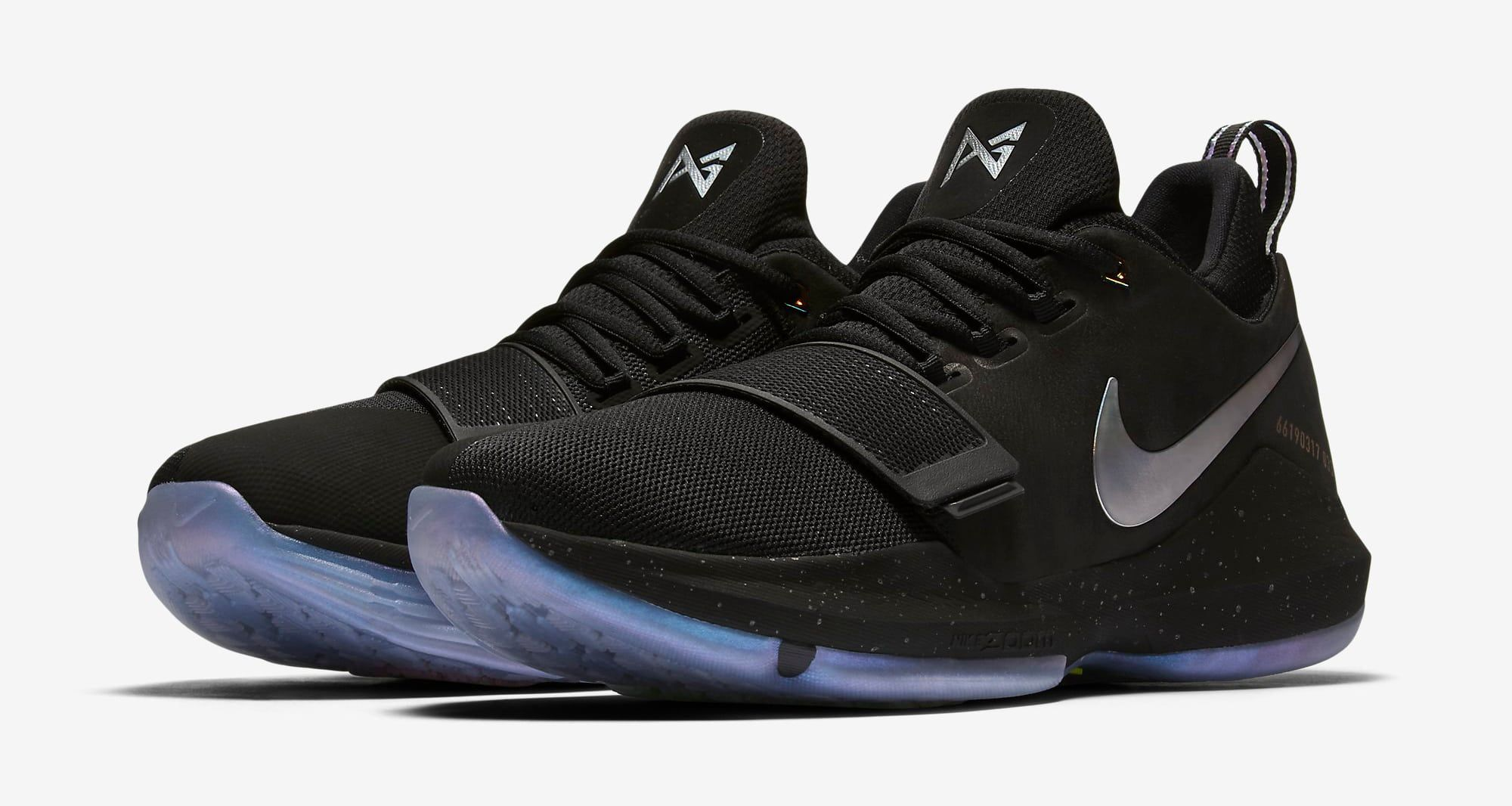 new concept 578fd 7f83a Paul George Signature Nike PG1 Shining | Kicks in 2019 ...
