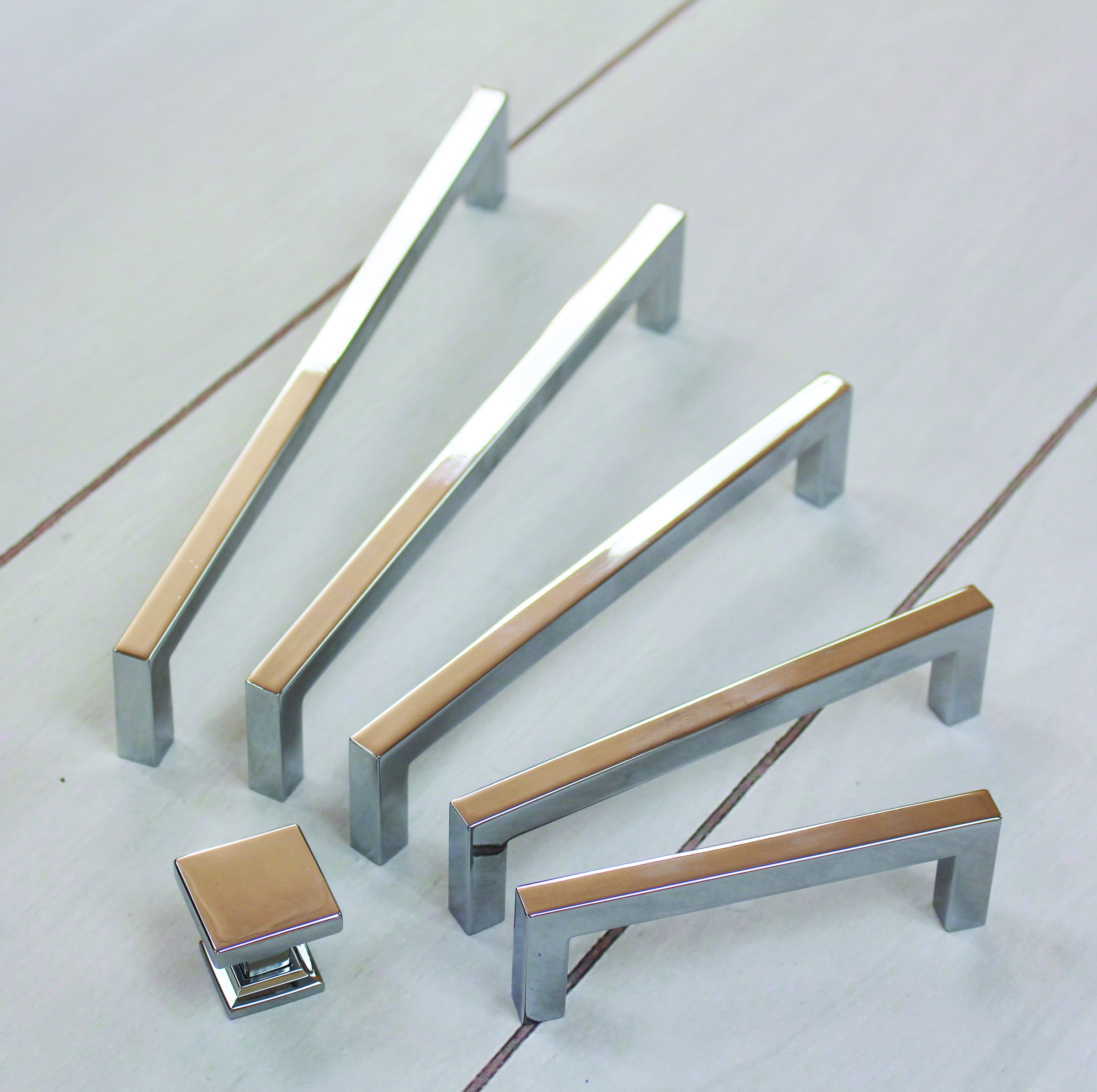 Contemporary square cabinet pull cabinet hardware for Square kitchen cabinet knobs