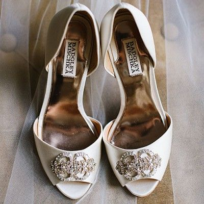 Dreamy Chesapeake Bay Wedding: The Bride's Shoes