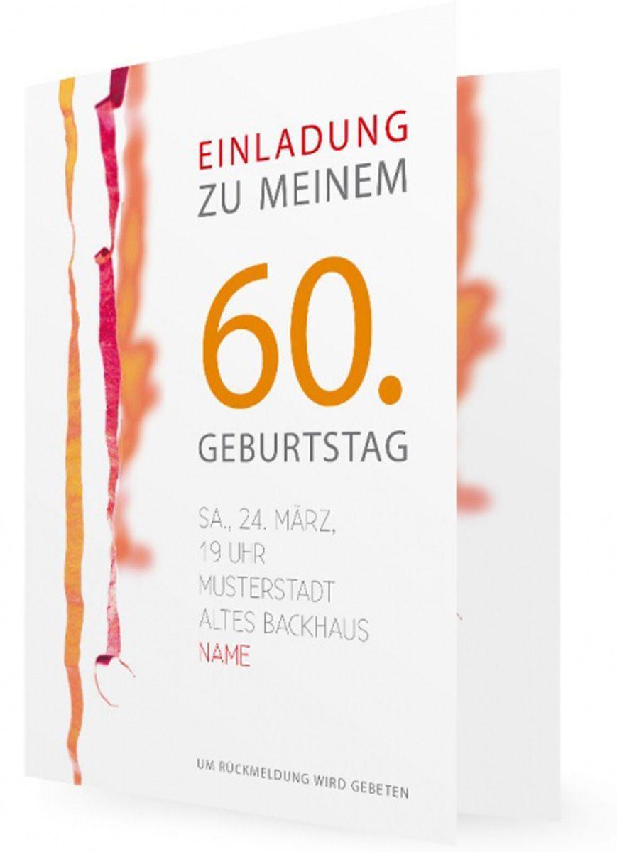 Einladungen 60 Geburtstag Jager Geburtstag Einladung