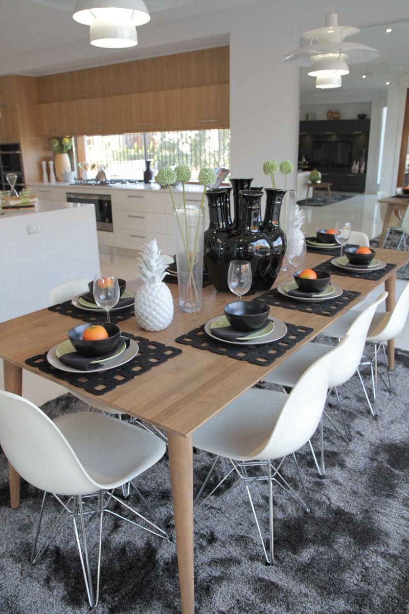 Dining Room Designs & Ideas | Metricon | navy | Pinterest | Dining ...