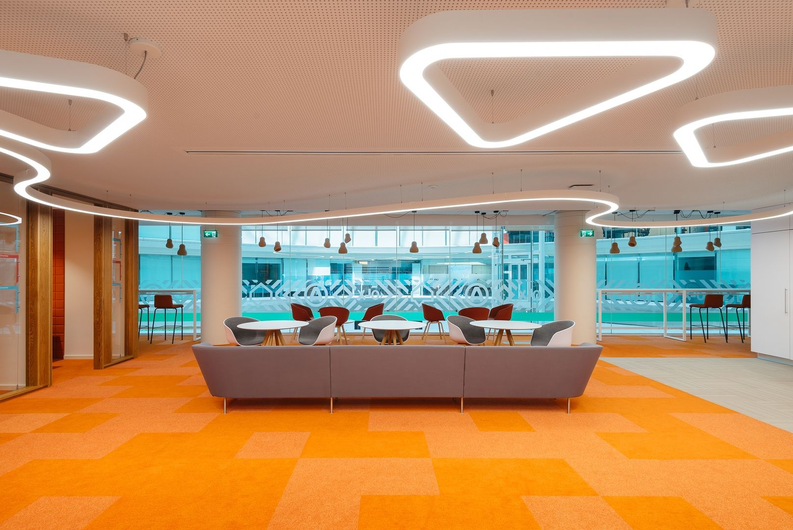 Artisan Touches and Company Colors for Office OLX Group