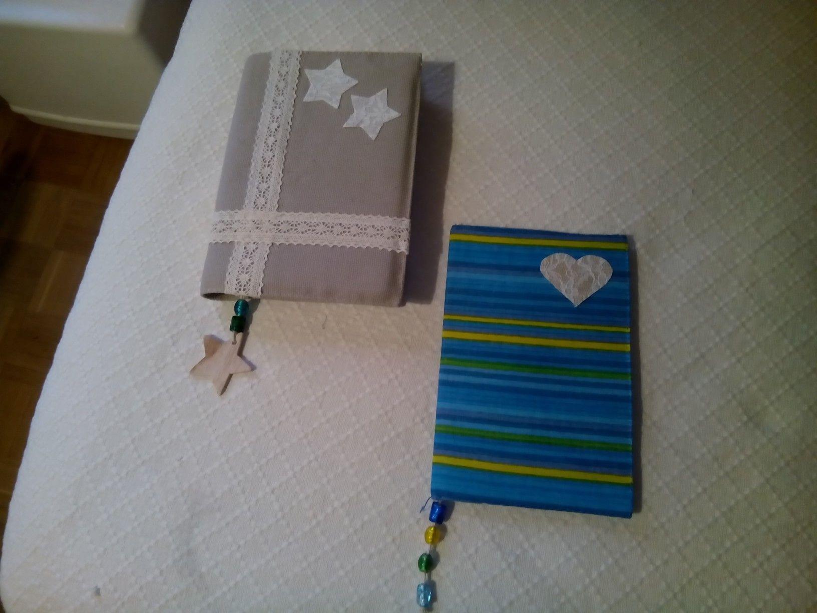Fundas fe libro hecha a mano y decoradas