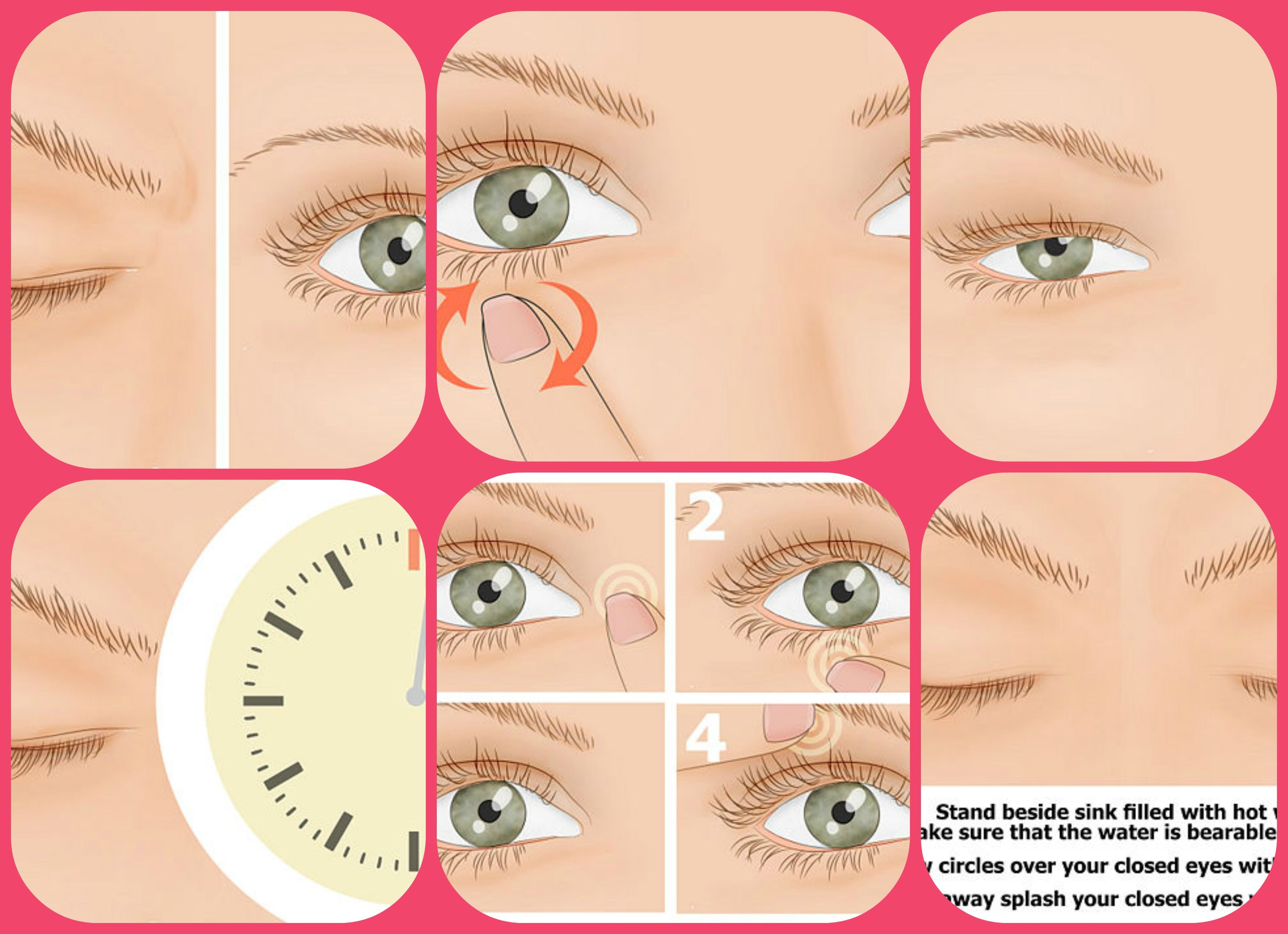 What are some causes of a twitching right eyelid?