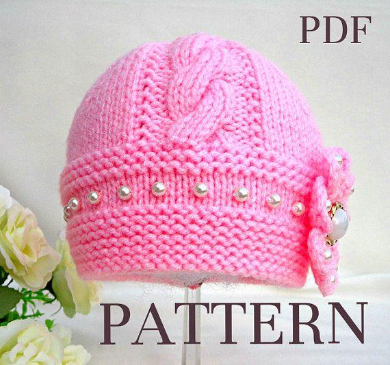 Baby Hat P A T T E R N Knitting Baby Hat Baby by Solnishko43 ...