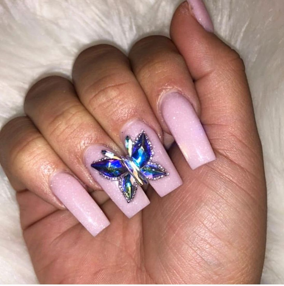 24 Gorgeous Designs For Square Nails - The Glossychic