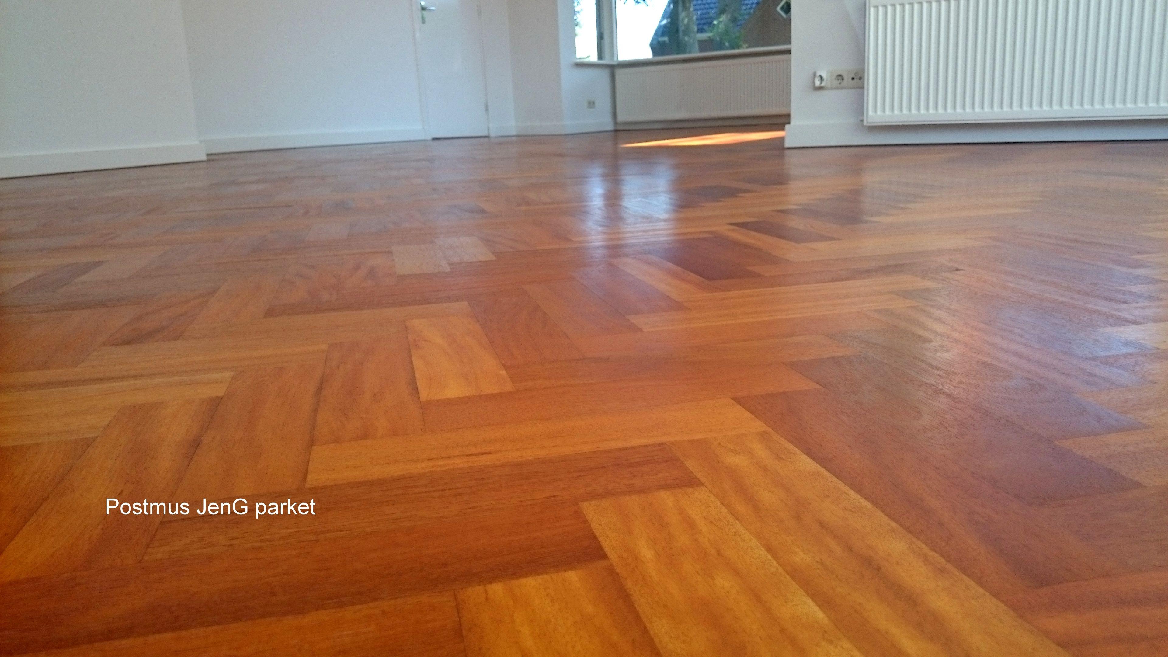 Billinga visgraatvloer schuren olien houten vloeren geolied