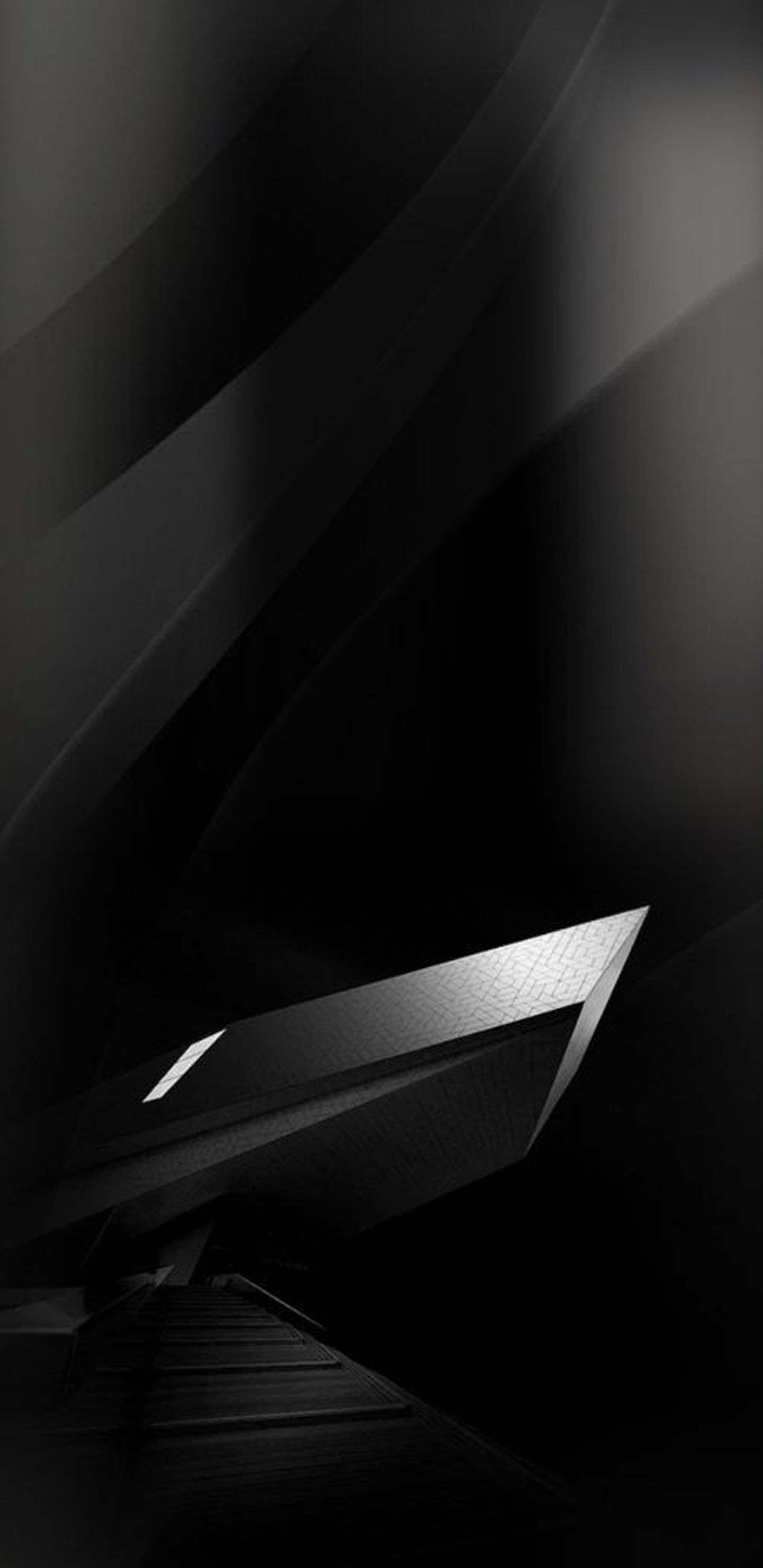 05 of 10 Samsung Galaxy S8 Wallpaper Black and Silver in