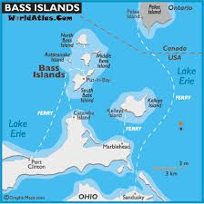 Lake Erie Islands Map Image result for map of bass islands lake erie | Middle Bass