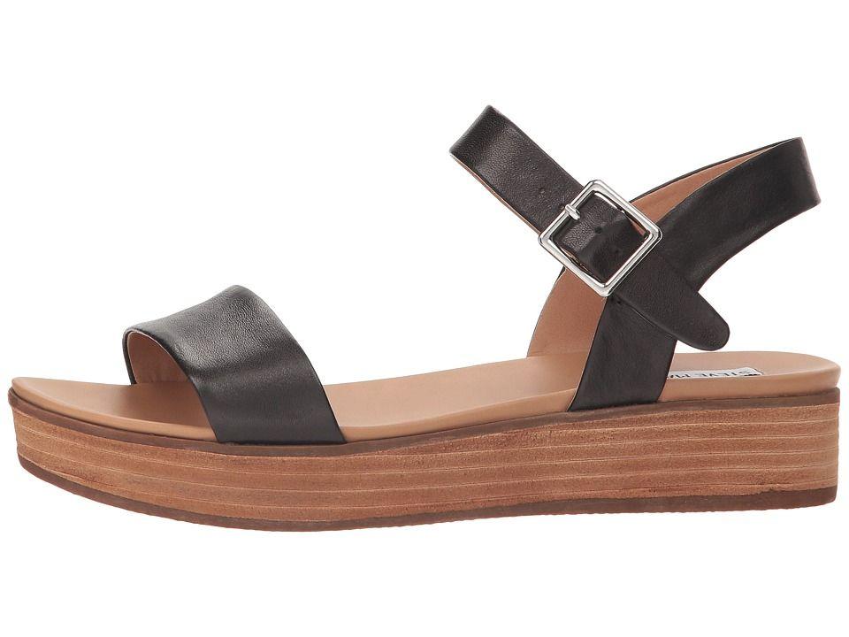 4dfbfb41e4bd Steve Madden Aida Women s Shoes Black Leather