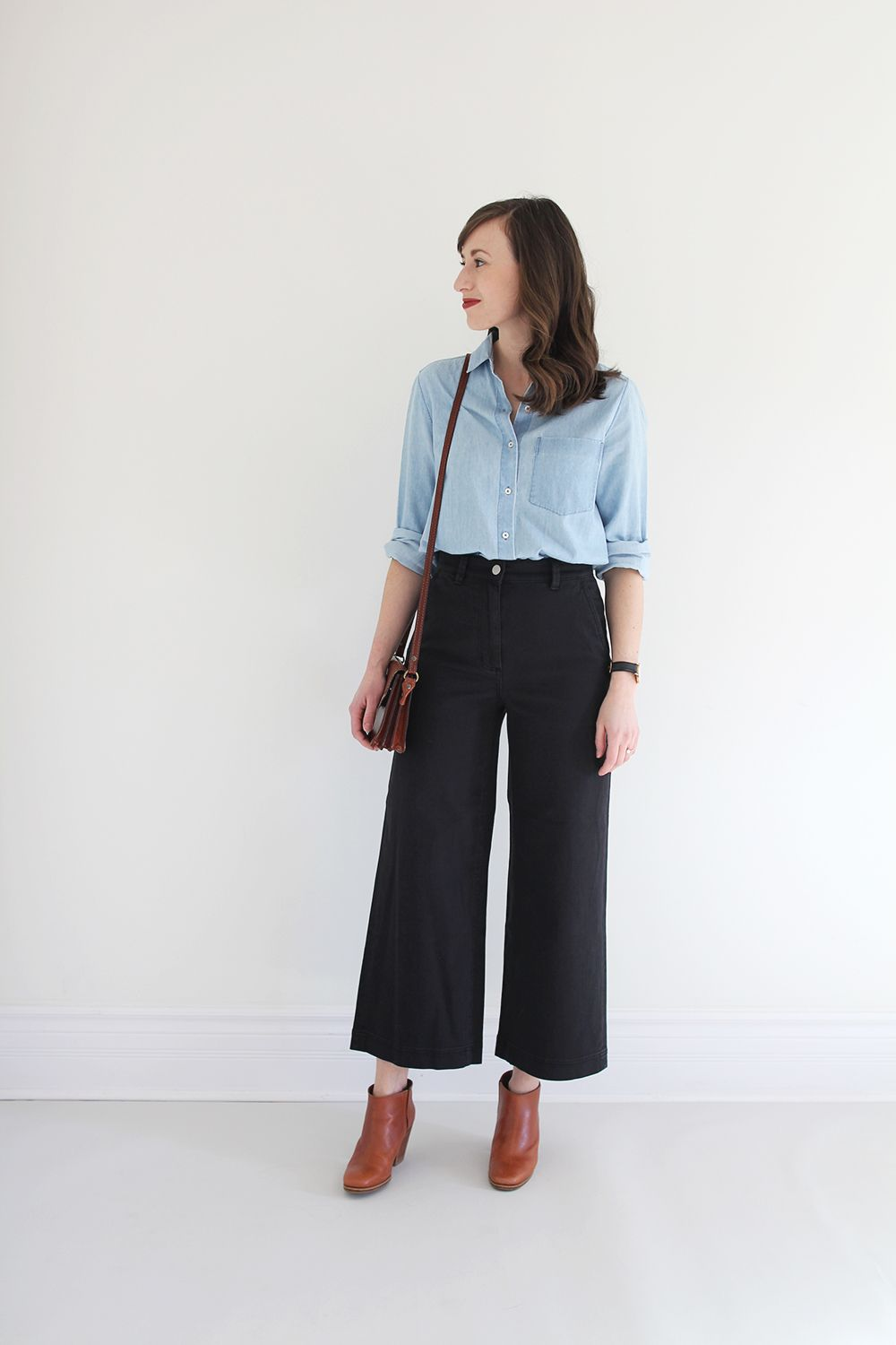 Style Bee - Everlane Wide Leg Crop Pant | \ Style Bee Blog ...