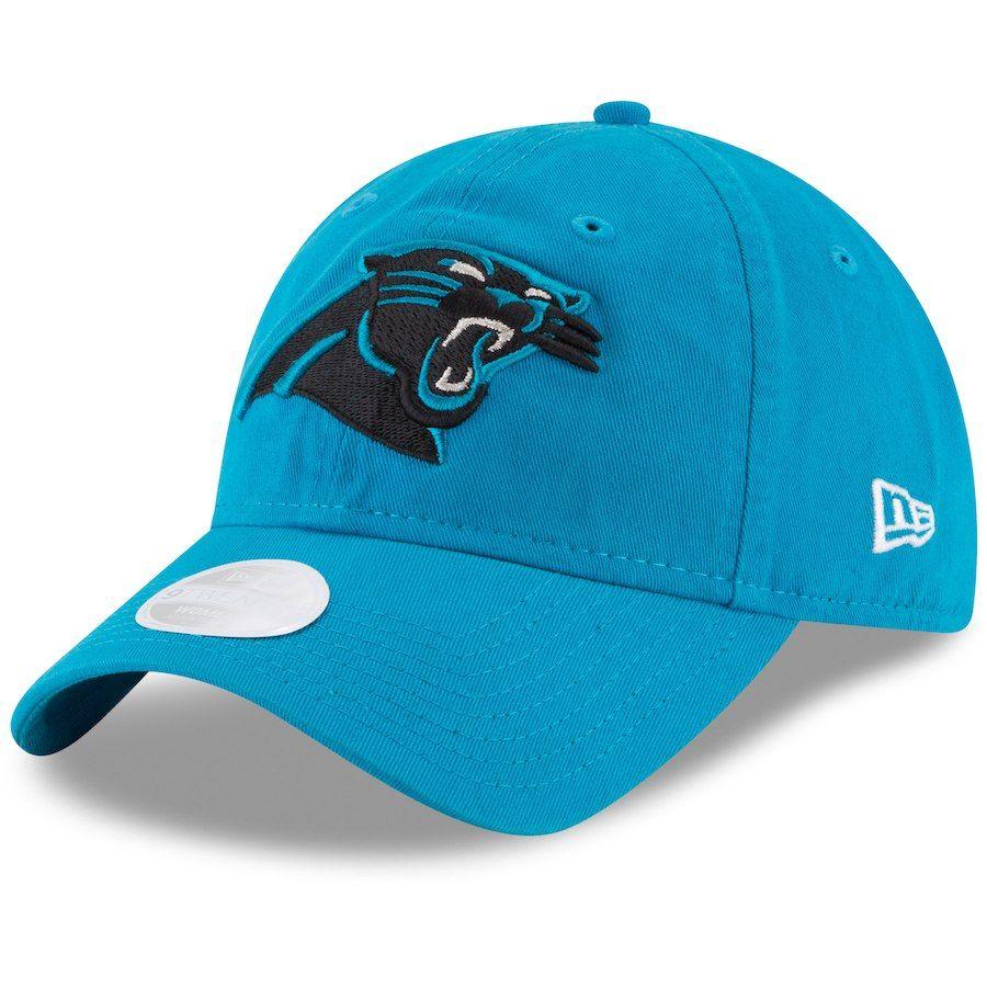 8e44a57a Women's Carolina Panthers New Era Blue Core Classic Primary 9TWENTY ...