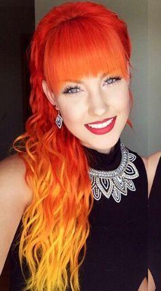 Unique Colorful Hair Pictures