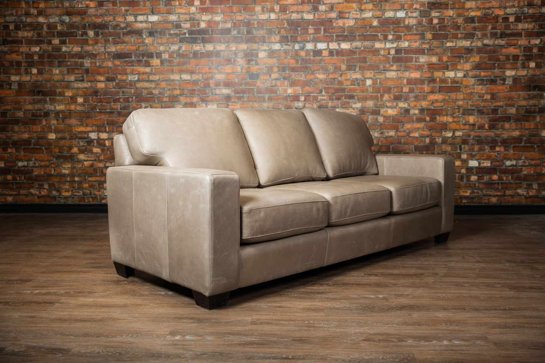 Mesa Sofa Bed In Dove Grey Off Colour Stitch Leather Sofa Bed Sofa Sofa Bed Canada