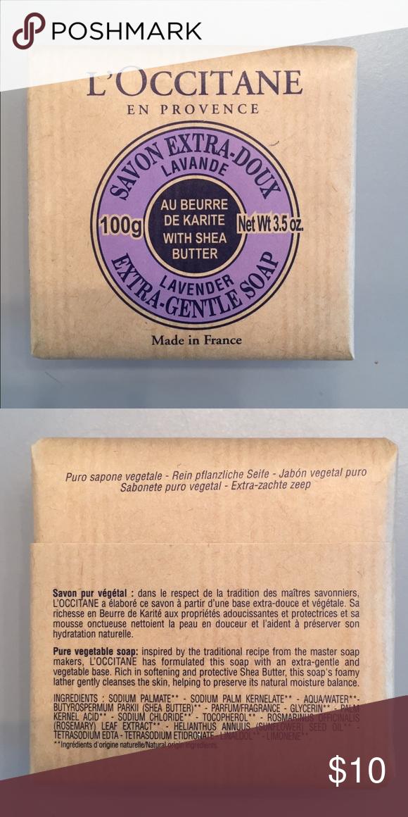 L'Occitane Lavender Soap L'Occitane Extra Gentle Lavender Soap NEW L'Occitane Makeup