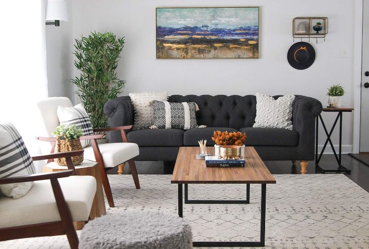 Life Changing Hacks For Small Spaces Small Living Room Decor Teal Living Room Decor Small Modern Living Room