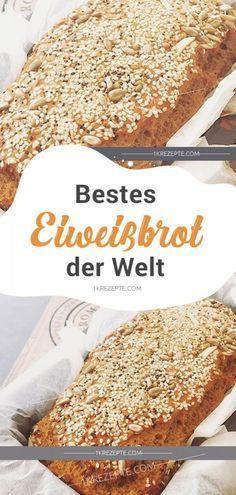 Bestes Eiweißbrot der Welt - #Best #Bestes #CleanEating #Der #Detox #DietasParaBajarDePeso #Easy #Ei...