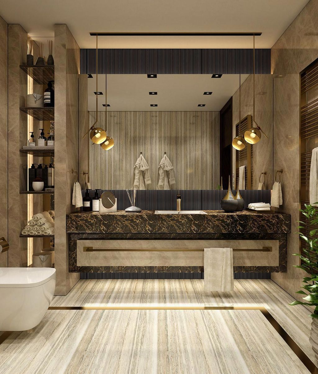 awesome 45 lovely contemporary bathroom designs more at