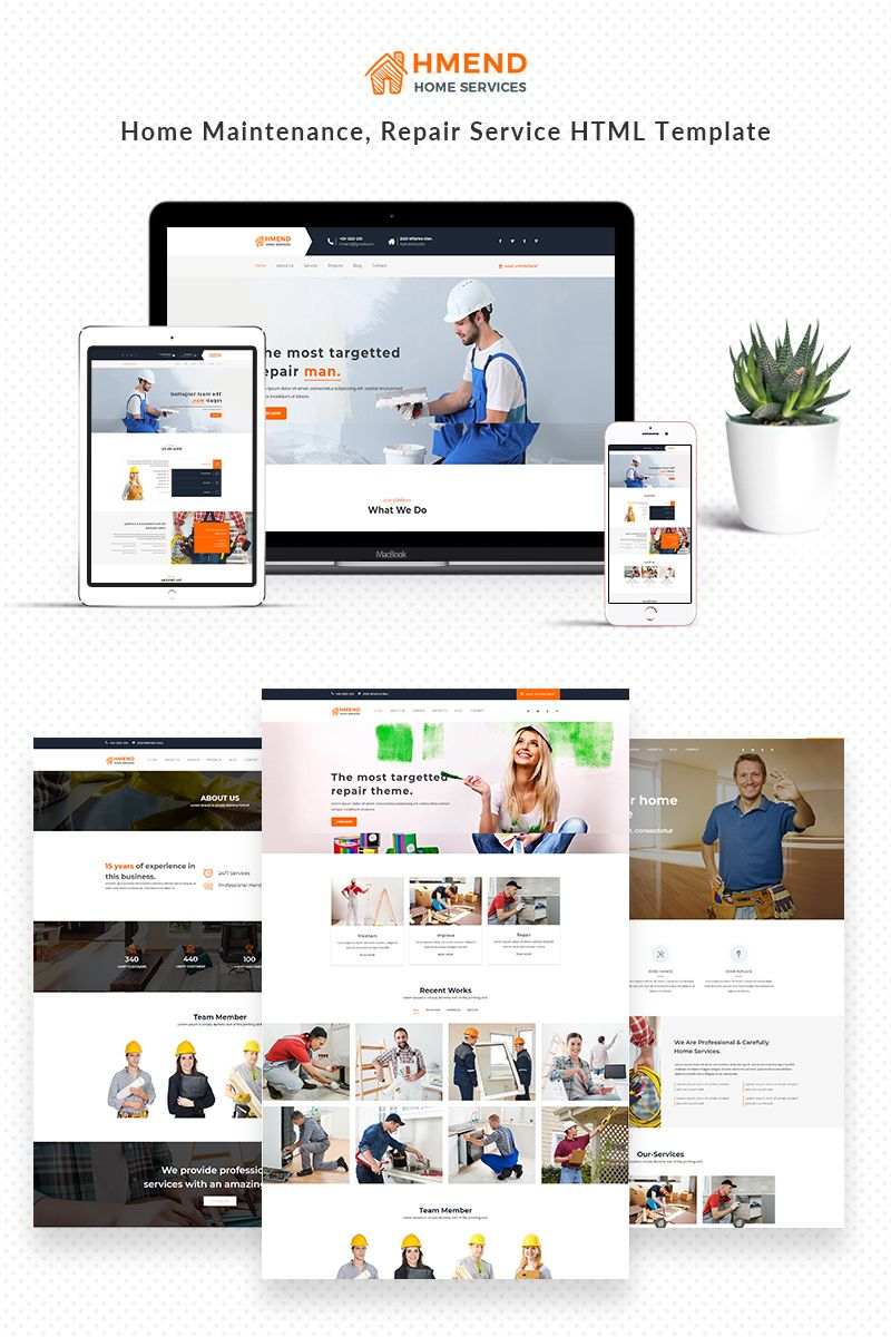 hmend – home maintenance, repair service website describe waitress on resume sales leadership manager cv samples