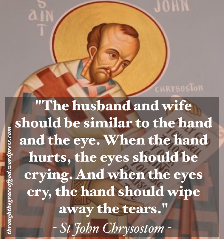 St John Chrysostom: Eye and Hand | John chrysostom, Catholic ...