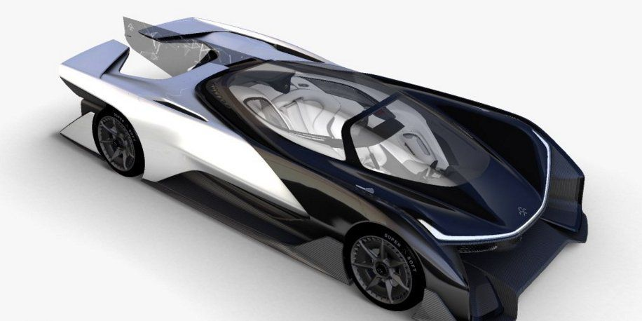 Faraday Future Concept Car Faraday Future