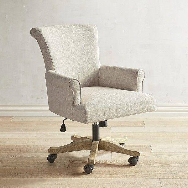 Pier 1 Imports Brennon Swivel Desk Chair 300 Liked On