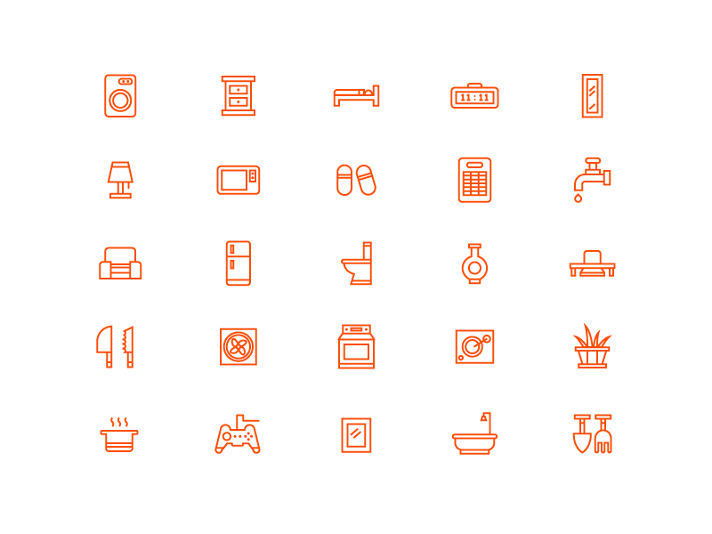 Home Icons by Yihsuan Lu
