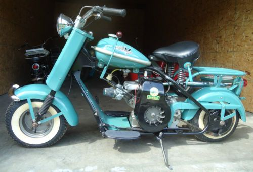 1957 Cushman Eagle Motorcycle Scooter Nr Just Scoots Motorcycle