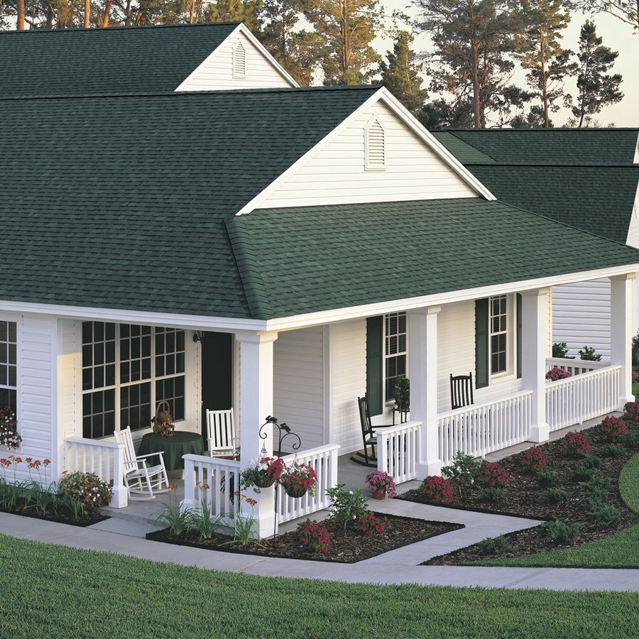 Best Owens Corning Architectural Shingle Roof Lowe S Green 400 x 300