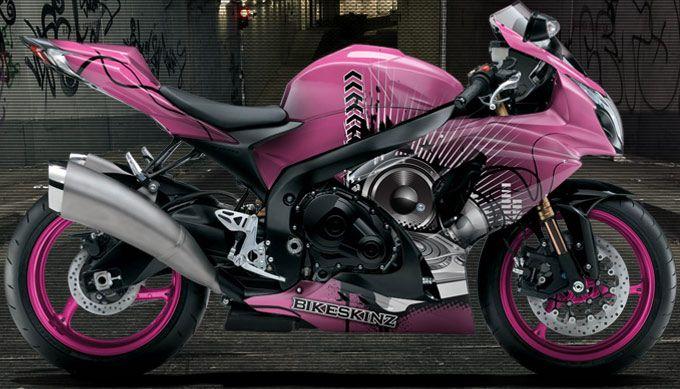 Magical Dj Pink With Images Ninja Bike Pink Motorcycle